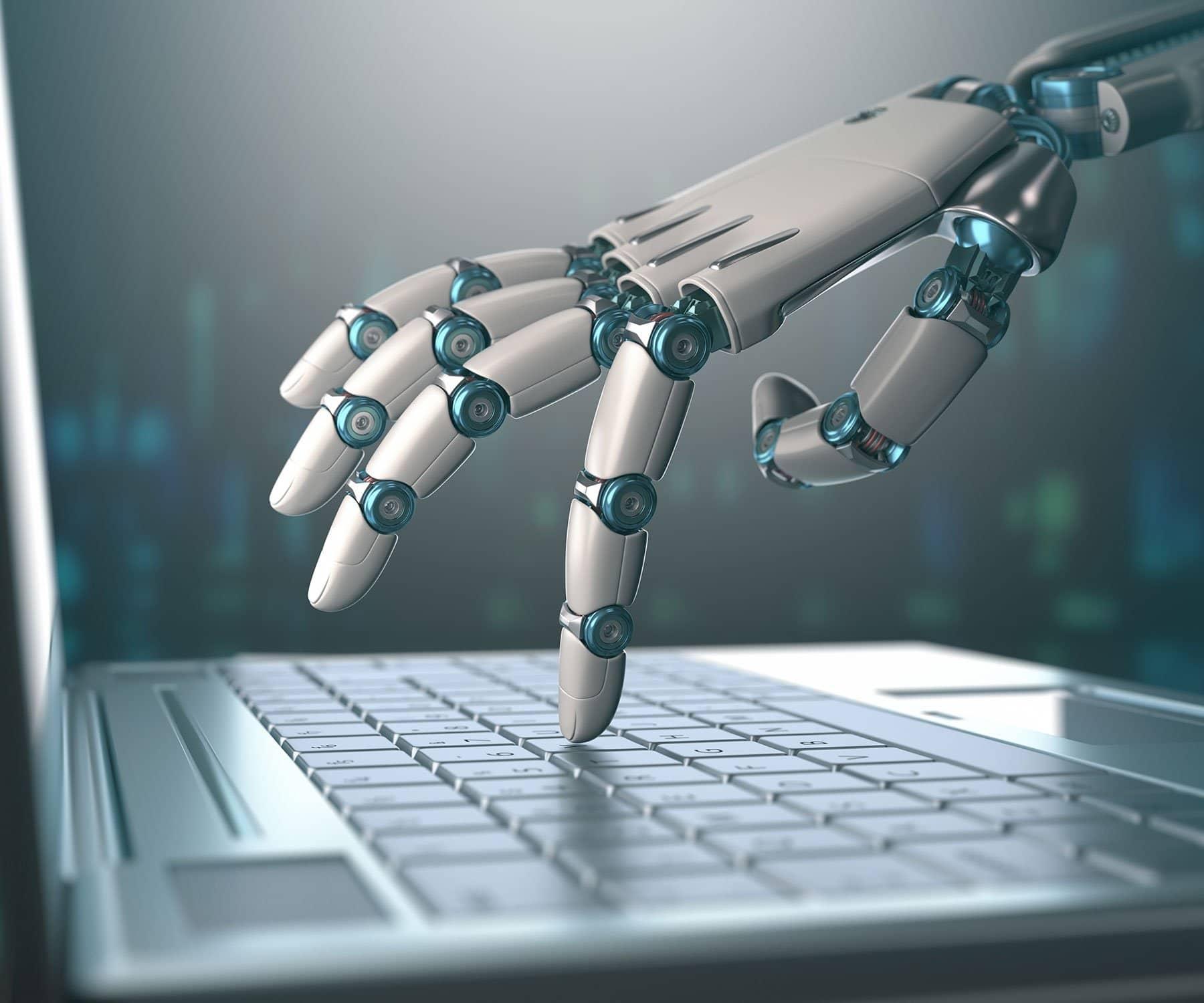 robots ordinateur